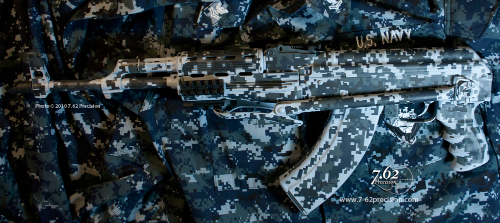 Digital Camouflage Finishes 7 62 Precision Custom