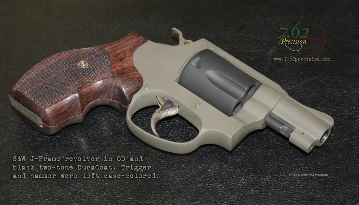 About 7.62 Precision | 7.62 Precision Custom Firearm Finishes