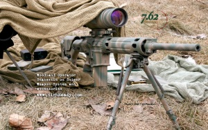 AR-10 Sniper with 7.62 Precision DuraCoat Finish