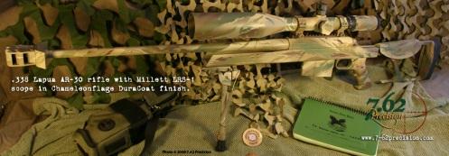 AR-30 and Millett scope in Chameleonflage