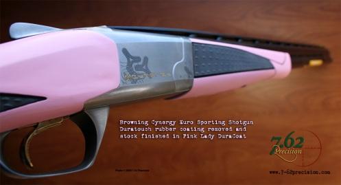 Browning Cynergy Euro Sporting Shotgun in Pink