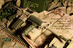 Bushmaster M4 style AR-15 Carbine OD/Dark Earth