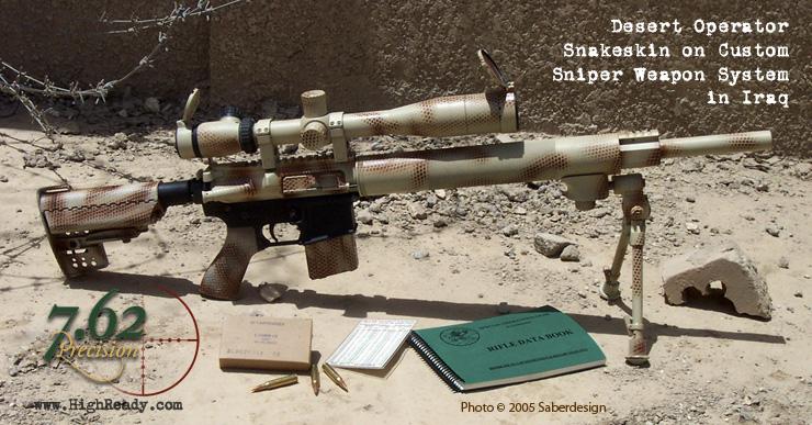 Snakeskin Finishes 7 62 Precision Custom Firearm Finishes