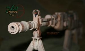 SKS Rifle in Desert Operator Snakeskin DuraCoat