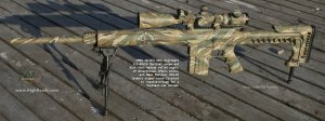 DPMS LR-260 and Sight Mark optics and Mako SSR-25 stock for Gunblast.com Review