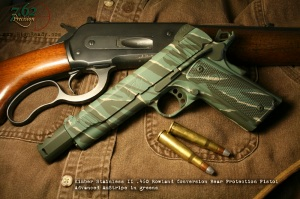 Green AmStripe on Kimber .460 Rowland Conversion