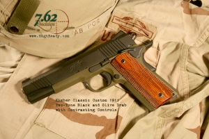Kimber 1911 Two-tone OD and Black