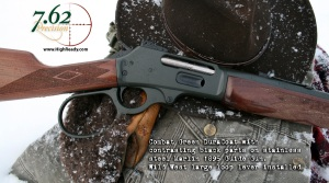 Marlin 1895 Large Loop Combat Green and Walnut