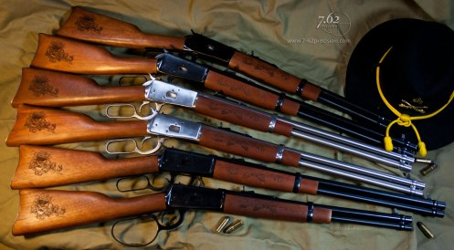 Rossi R92 1892 Winchester Clones with 1-40 Cavalry Artwork.