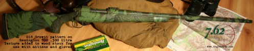 Remington 700 .300 Ultra Mag in Old Growth pattern.