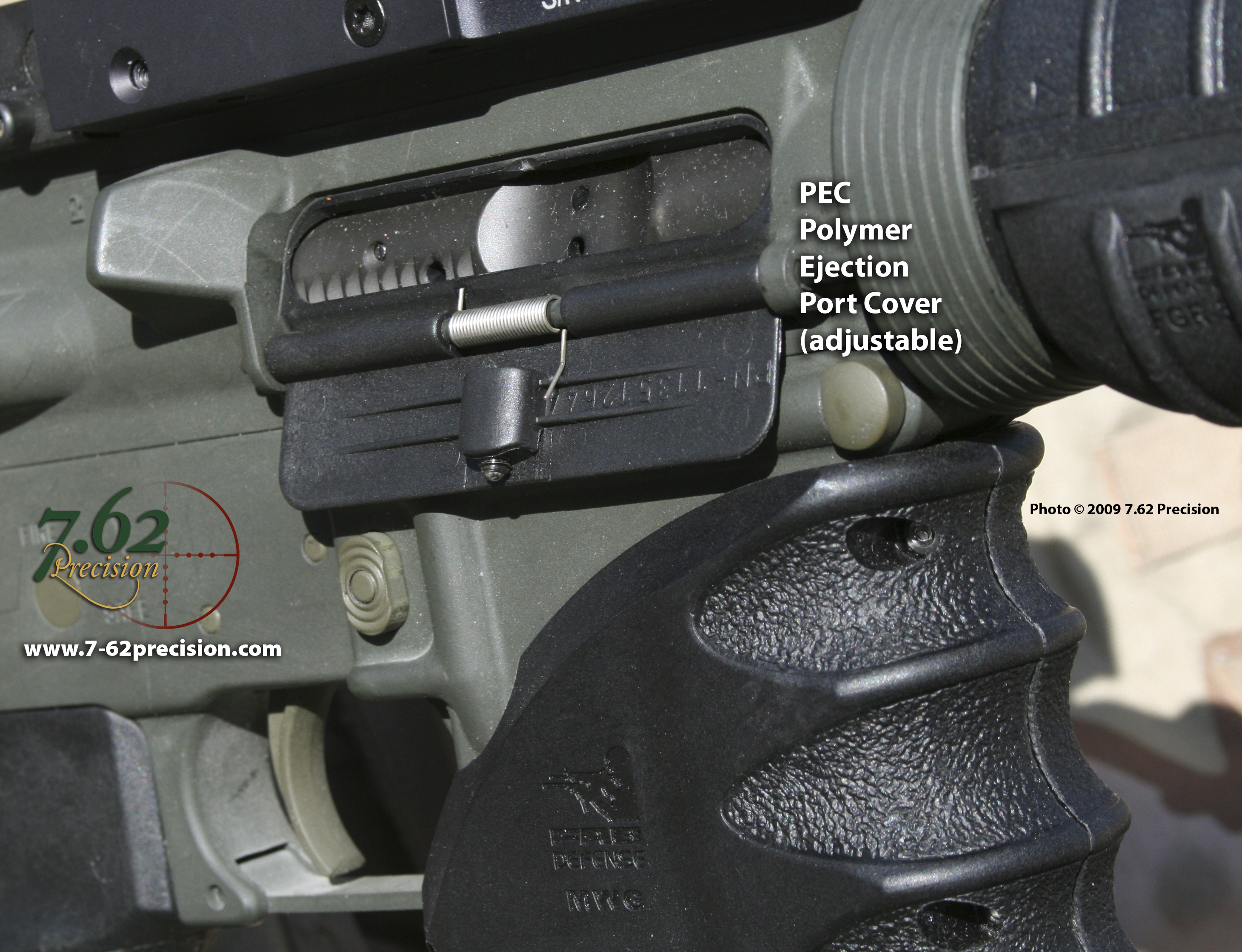 Israeli Polymer Ejection Port Cover 7 62 Precision