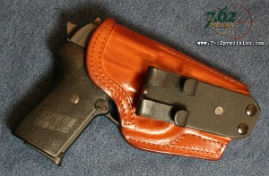 Front Line Leather HIWB Holster for SIG P239.