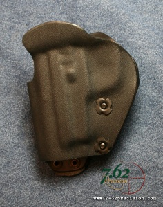 Kydex HIWB Holsters feature adjustable tension.