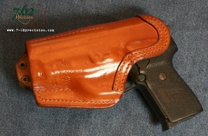 Each Front Line holster is moulded to perfectly fit a specific pistol.