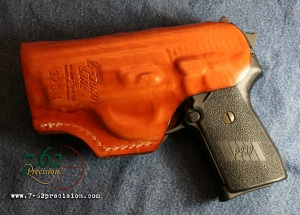 This Front Line holster has been used for three years and still looks new.