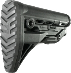 Recoil-reducing AR-15 stock