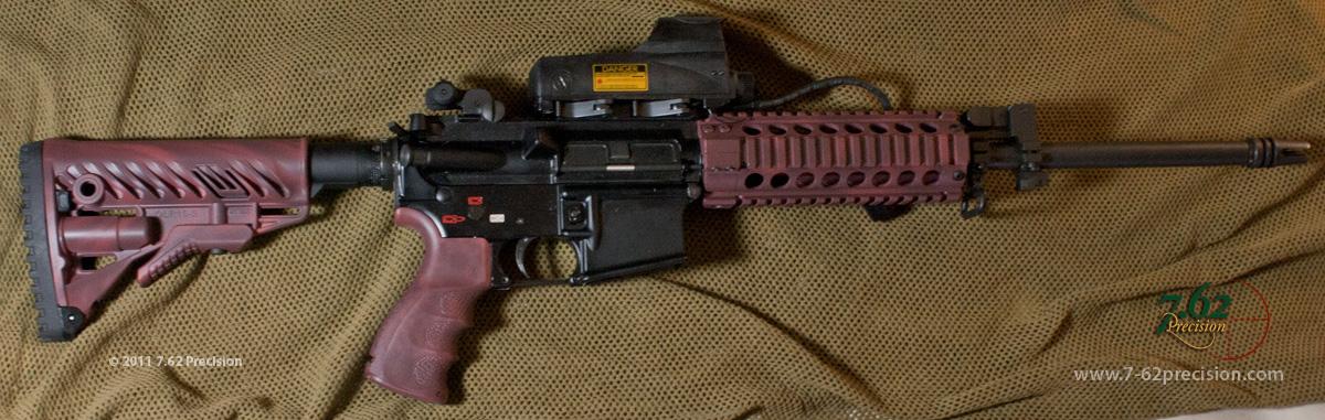 Red Custom AR-15