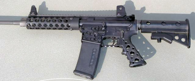 Light weight AR15 build-off  I won the competition (3 25 pounds
