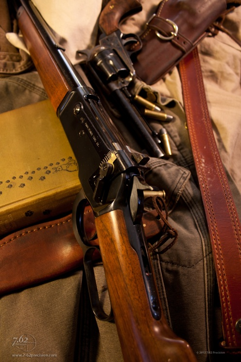 Winchester 1886 Extra Lightweight Rifle .45-70 with #21 sight.