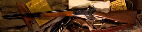 Winchester 1886 with Lyman 21 style sight from Providence Tool Company