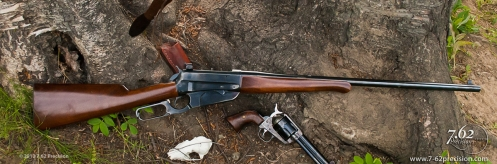 1895 Winchester Rifle marketed by Browning in 1984. Rebored from .30-06 to .35 Whelen.