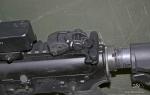 FAB Polymer Flip-up rear sightRBS