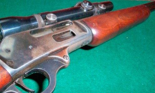 Marlin 336 awaiting a transformation.