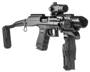 Pistol-based carbines are the perfect blend of concealable portability and effective range and accuracy for SROs.