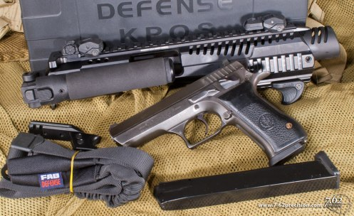 Pistols like the Jericho with a frame-mounted safety are a great choice for KPOS use.