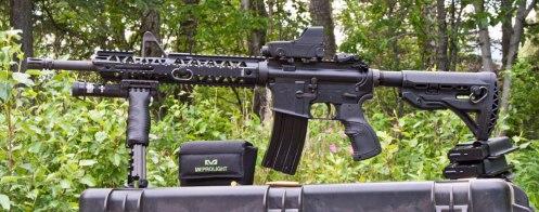 Colt LE carbine Mepro Tru-Dot RDS sight