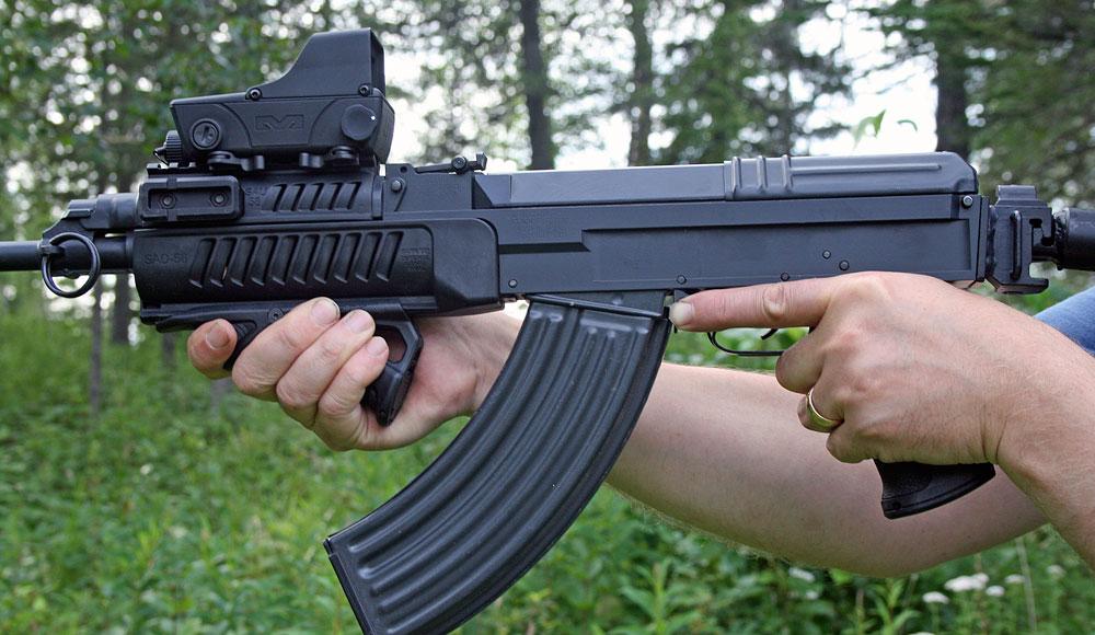 The Ultimate Left-Handed Semi-Auto Carbine | 7 62 Precision