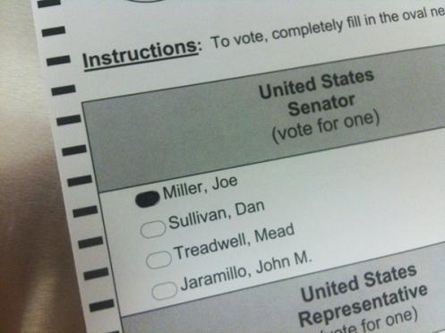 Alaska-Senate-Ballot