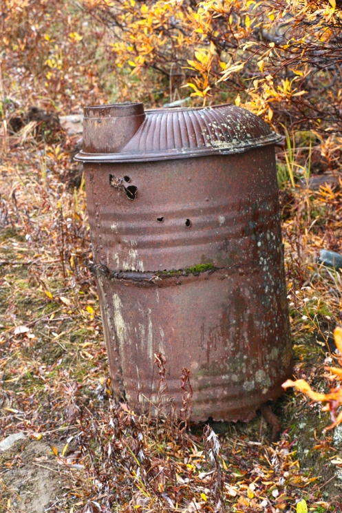 A Barrel Stove