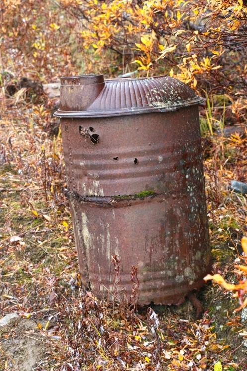 A Barrel Stove
