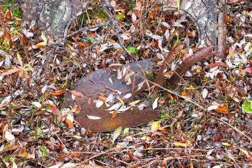 Old Riveted Shovel