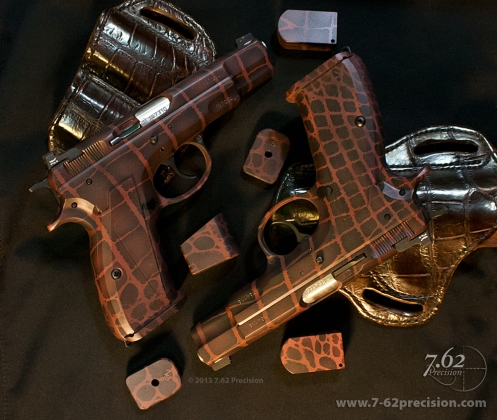 Aligator Skin CZ75 Pistols