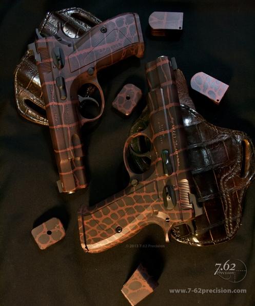 CZ-75 Pistols Aligator Pattern