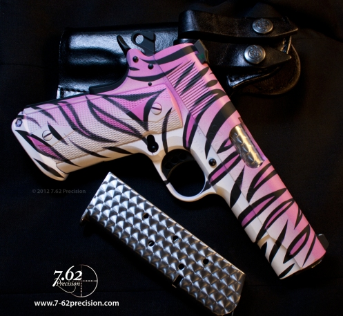 Pink-Tiger-Colt-1911-Meprolight-Sights