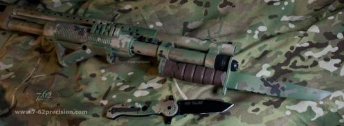 Chameleonfleck-590-Shotgun-Bayonet